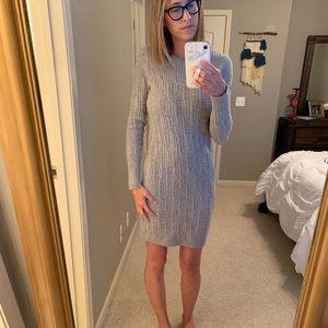Banana republic cable sweater dress
